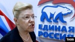 Елена Мизулина, председатель комитета Госдумы по вопросам семьи, женщин и детей