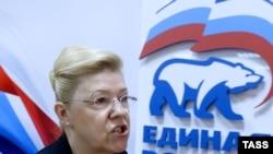 Мизулина Елена «Нийсоьнан Оьрсийчоь» партин депутат, Москох, 13Ман2013.