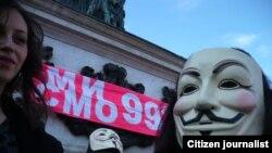 Protesti protiv ACTA sporazuma u Beogradu