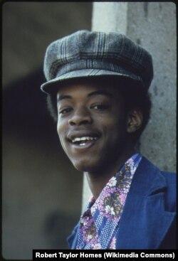Студент. Чикаго, 1973