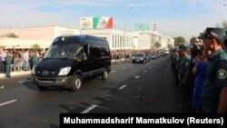Ташкенттегі Ислам Каримовпен қоштасу рәсімі