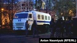 Російські силовики в Сімферополі, ілюстративне фото