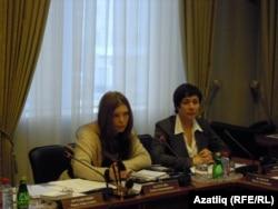 Олеся Балтусова һәм Светлана Персова