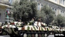 Azerbaijan – A military parade in Baku, 26Jun2008