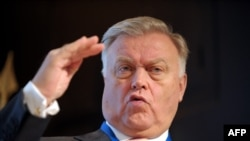Vladimir Yakunin is the former head of Russian Railways