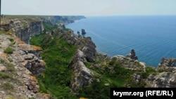 Крым, мыс Тарханкут, иллюстрационное фото