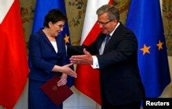 Президент Польши Бронислав Коморовский считает, что у кабинета Эвы Копач всё будет хорошо