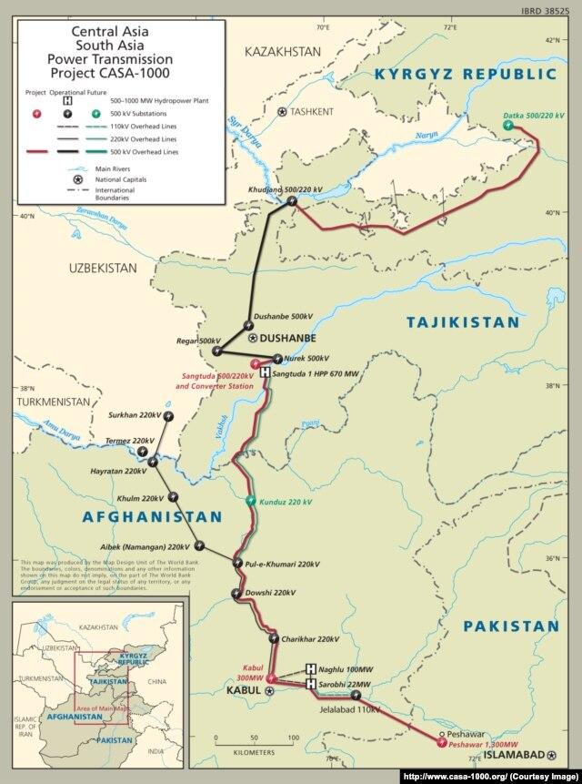 Карта проекта.