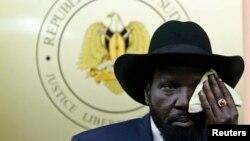 Претседателот на Јужен Судан, Салва Кир
