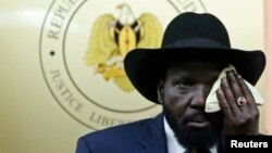 Presidenti i Sudanit Jugor, Salva Kiir.