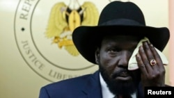 سلوا کِر، رئیس جمهور سودان جنوبی