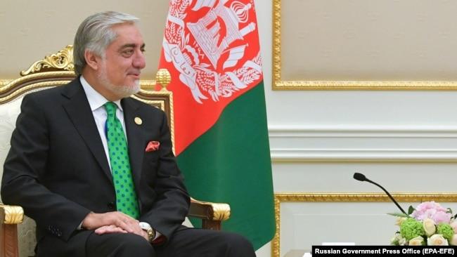 د افغان حکومت اجرائیه رئیس عبدالله عبدالله