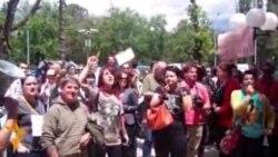 Новинарски протест за ослободување на Кежаровски