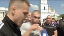 Зібрані відеоматеріали про побиття журналістів 18 травня