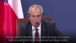 Deklarata e presidentit çek për Kosovën