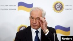 Поранешниот украински премиер Микола Азаров.