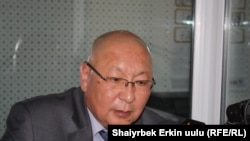 Kyrgyzstan's presidential chief of staff Emilbek Kaptagaev