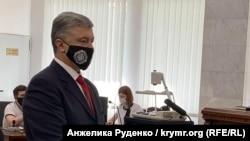 Петро Порошенко в суді в Києві, 15 червня 2020 року