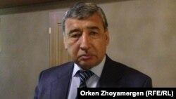 Депутат мажилиса парламента Камал Бурханов.