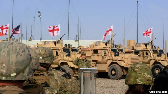 Georgia has some 1,570 troops in Afghanistan, making the country the largest non-NATO contributor to the mission.