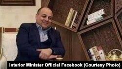 د افغانستان د کورنیو چارو وزیر ویس احمد برمک