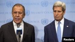 Sergei Lavrov və John Kerry