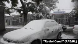 Tajikistan has been hit by unusually heavy snowfall.