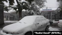 Tajikistan has been hit by unusually heavy snowfall.