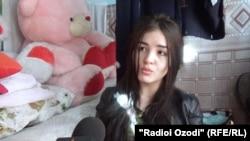 23-летняя Малика Сохибназарова.