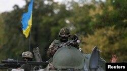 نیروهای ارتش اوکراین در دونتسک