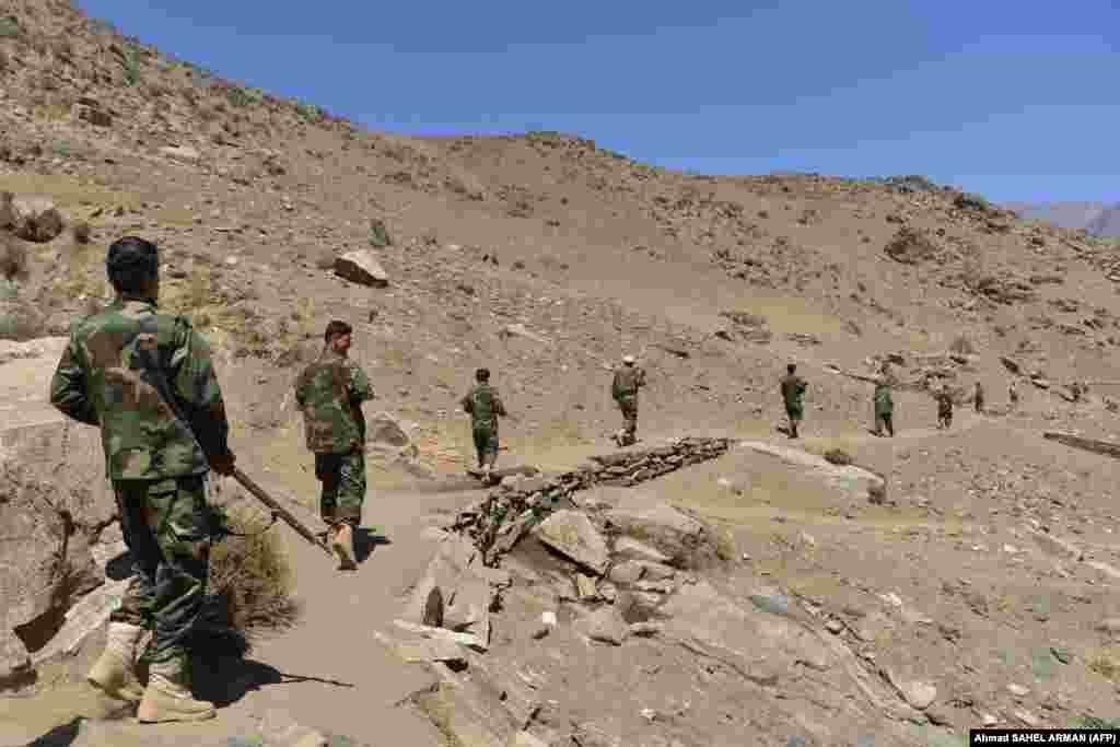 """22 тамызда тәліптер Ахмад Масудтан төрт сағат ішінде аймақты беруді талап еткен. Бірақ ол """"Талибанның"""" бұл талабын орындамады."""