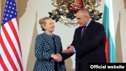 Hillary Clinton şi Boyko Borisov