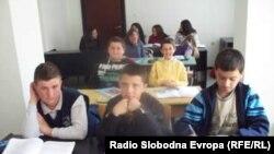 Илустрација - Ученици во Охрид.