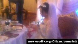Власти призывают узбеков следовать своим традициям при проведении свадеб.