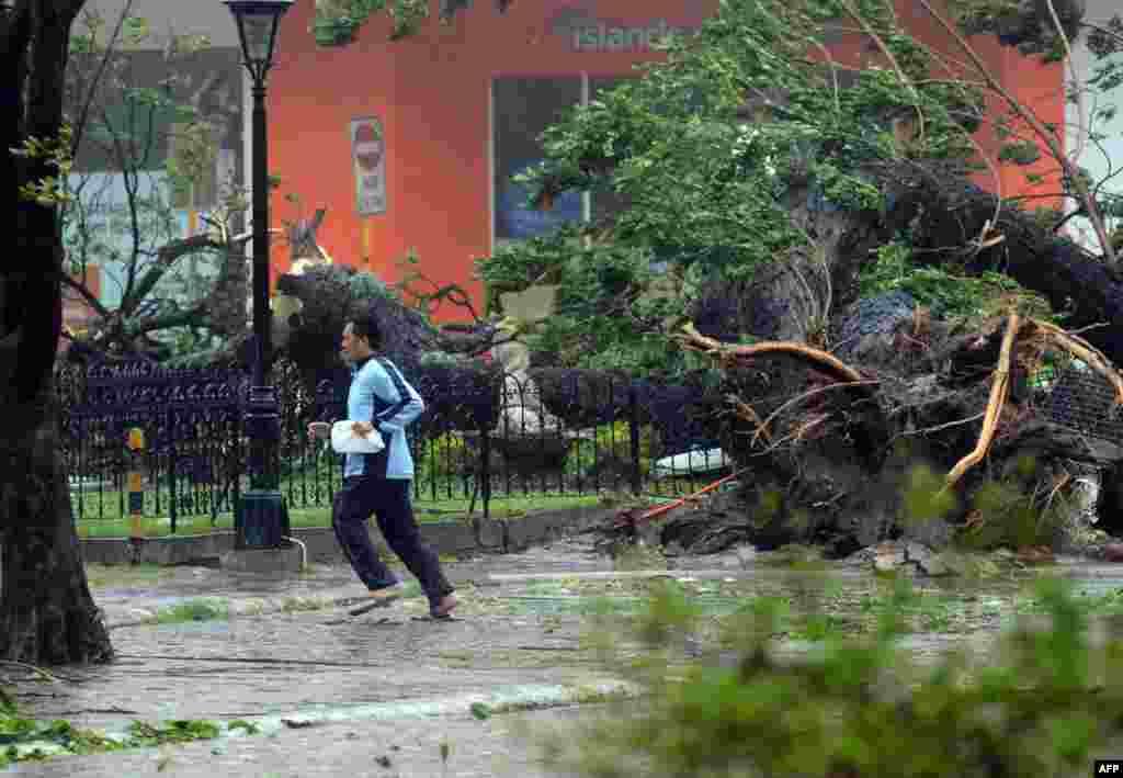 Число жертв тайфуна Хайян, обрушившегося на Филиппины, может достигать 10 тысяч человек. В провинции Лейта в центре страны тайфун разрушил около 70 процентов сооружений. Тайфун Хайян - один из самых мощных за всю историю метеонаблюдений - пронесся над шестью филиппинскими островами, в пятницу, 8 ноября. Порывы ветра достигали 275 километров в час.