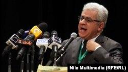 المرشح للرئاسة المصرية حمدين صبّاحي