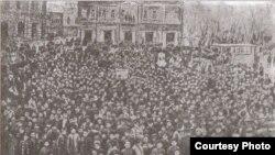 Zərdabinin dəfni. 1907
