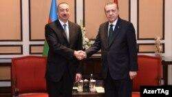 İlham Əliyev və Receb Tayyib Erdoğan. Islamabad. 28fev2017
