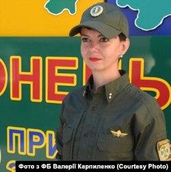Прес-офіцер Донецького прикордонного загону ДПСУ Валерія Карпиленко