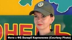 Валерія Карпиленко, прес-офіцер Донецького прикордонного загону ДПСУ