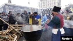 """""""Евромайдан"""" в Киеве"""