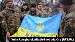 Зустріч демобілізованих 93-ї бригади у Дніпропетровську, квітень 2015 року