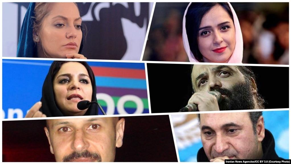 از راست بالا: علیدوستی، افشار، عصار، میلانی، فرحنژاد و ماز جبرانی
