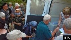 Vaccinarea într-un sat din Bulgaria