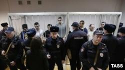 """""""Болотный ісі"""" бойынша сотталушылар. Мәскеу, 24 ақпан 2014 жыл."""