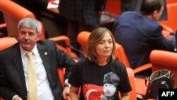Թուրքիայի մեջլիսի նիստում, արխիվ