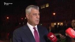 Thaçi e Vuçiq flasin pas takimit në Bruksel