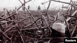 Первая мировая война, северо-восток Франции.