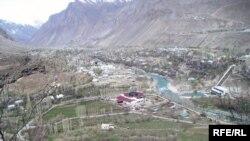 Намои шаҳри Хоруғ - маркази маъмурии вилояти Бадахшон.