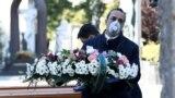 Похороны одного из итальянцев, умерших от COVID-19